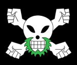 Greenbeard Pirate Jolly Roger by privateCancer