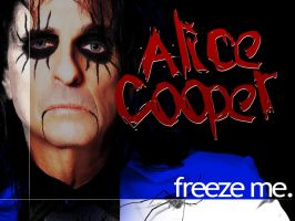 Alice Cooper: Freeze Me. by papatom