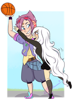 Hey give that back! by JessiiRoo