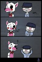 Mike and Mangle by ZetsY7