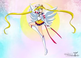 Sailor Moon by LadyHeinstein