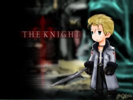 The Knight - FFIII Style by pesky0yuna