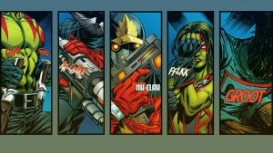Guardians Of The Galaxy Wallpaper by timBern