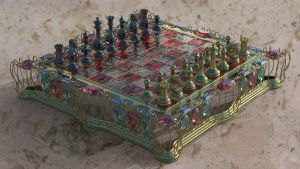 ChessBoard Low Cost by agwesh