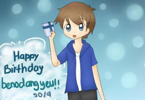 Happy Birthday benodangyeu!! by SapphireHaneen711