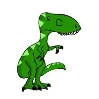 Little T-rex by Raulboy