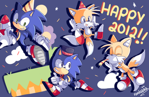 Happy New year 2012 by Ipun