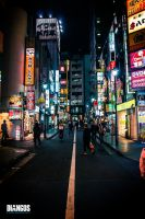 Tokyo Night Life by Diangos