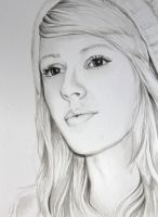 Ellie Goulding - Watercolour by christina-0o