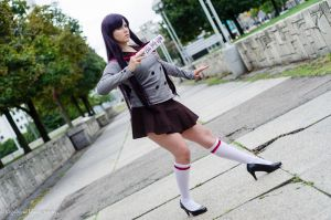 Posed to Strike - Rei Hino by fruba-kyo-lover1