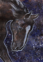 aceo horse by kailavmp