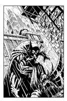 Batman Inks by BDStevens