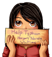 Help the victims of Typhoon Haiyan/Yolanda by xJewiex