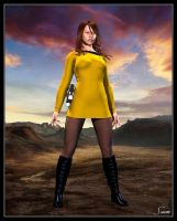 Amy - Wild Starfleet Pinup by celticarchie