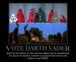 Vote Darth Vader by MexPirateRed