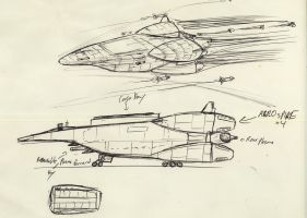Old shuttle concept pic 2 by Jepray