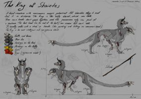 King of Skaietes - redesign by DraconianArtLine