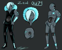 New Oc Zeal the Bass Monster by GingerQuin