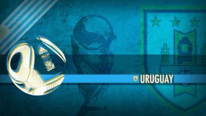 Uruguay WC2010 Wallpaper by Yabbus23