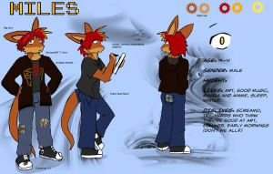 Miles Ref by tarukatheultimate