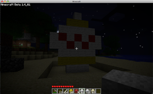 minecraft easter egg at night by chappy-rukia