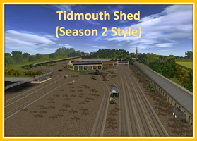 Tidmouth Shed (Season 2 Style) Released by 76859Thomasreturn