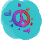 Peace Sign by MizzyKit