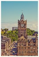 Edinburgh view by KrisSimon
