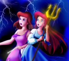 Disney Princesses threatened by forgotten-ladies