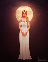 Princess Serenity by IsaiahStephens