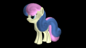 MLP Fluffy - Bonbon OLD by VeryOldBrony