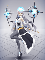 MMD Arcabuz Cruz by Xenosnake
