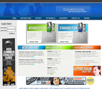 Webhosting layout by Mattupzero