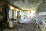 Abandoned bathroom in abandoned mine by Czava
