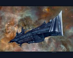Battlecruiser by grinningcat83