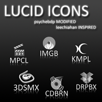 Lucid Icons psychebdp modified by psychebdp