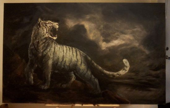 Tiger, Tiger by Dygee