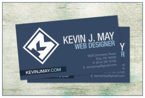 Kevin May Business Card by DeFined04