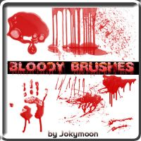 Bloody Brushes by jokymoon