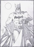 Batman Pencils by wardogs101