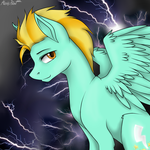 Lightning Dust by PinkieCake20