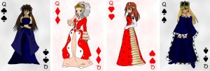 Card set - Queen by KOAnimation