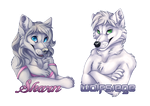Sharn and Wolfsiege Badges by Silvixen