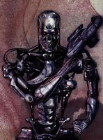 T-800 endoskeleton by fastleppard