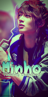 Vertical Banner - Minho SHINee by ziffy95