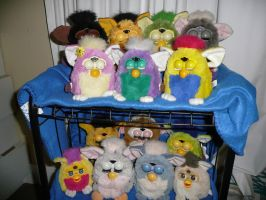 Furby Collection by Gomamon4life