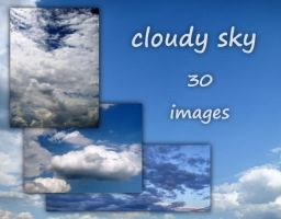 cloudy sky - LARGE images pack by AletheiaFelinea