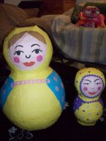 Russian dolls by the-pinata-pimp