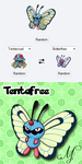 PokeFusions: Tentafree by SunsetSovereign