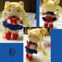 Sailor moon Amigurumi by DarkTeaCrochet